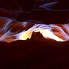 Upper Antelope Canyon - Can you see the Monument Valley ?