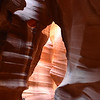 Upper Antelope Canyon -     Can you see the bear in the center?