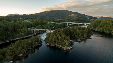 Straumsbruene i Skodje kommune, Møre og Romsdal