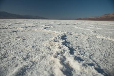 Bad Water (Death Valley) - Salt Flats