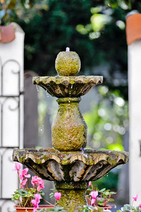 Mission San Francisco Water Fountain  This is one of the first photos I've taken after I got a LSR camera.