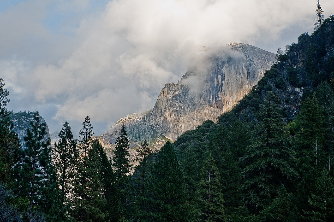 Yosemite, a view from the Tunnel