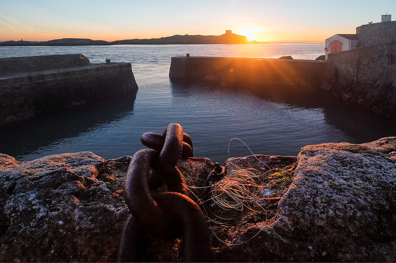 First Light at Coliemore Harbour