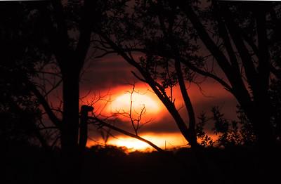 Sunset on the Refuge