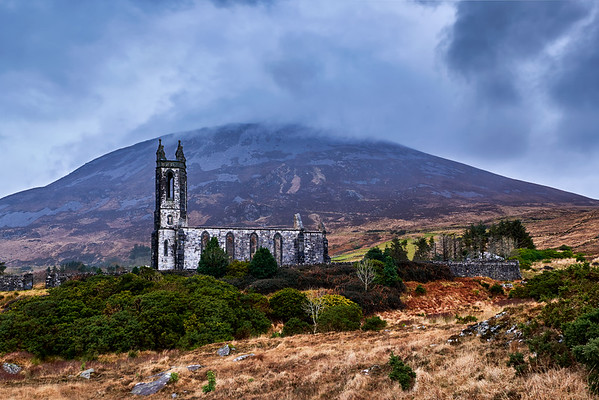 Dunlewey Church and Errigal