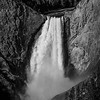 Lower Falls of Yellowstone NP