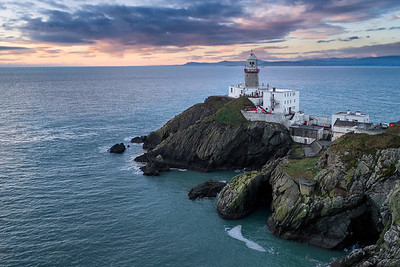 The Baily Lighthouse At Dawn