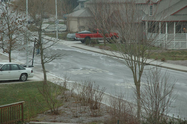 First Ice / Snow Storm 12/18/05