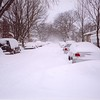 "NY Blizzard 2006, in the Bronx 30"" of snow in 10 hrs"