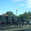 "Amish ""limo"" at Walnut Creek, OH"