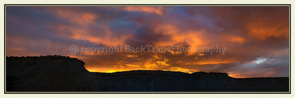 Bull Mesa Sundown   12 x 36