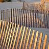 sand fences, Seabrook Island, South Carolina