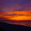 wide angle view, sunrise at Navarre Beach, FL, 2/15/2008, the morning after my Dad's heart bypass surgery