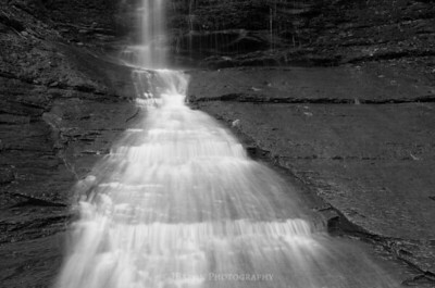 Widening Flow II monochrome