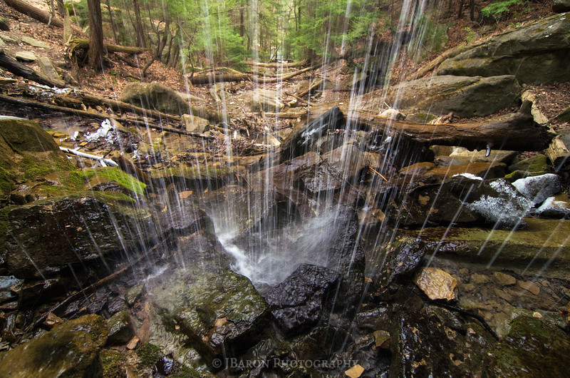Behind Kildoo Falls