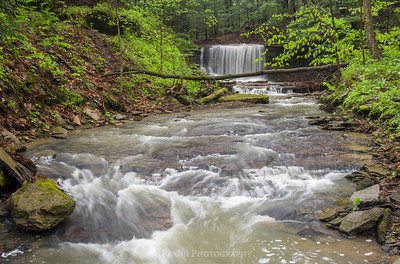 Downstream from Grindstone Falls