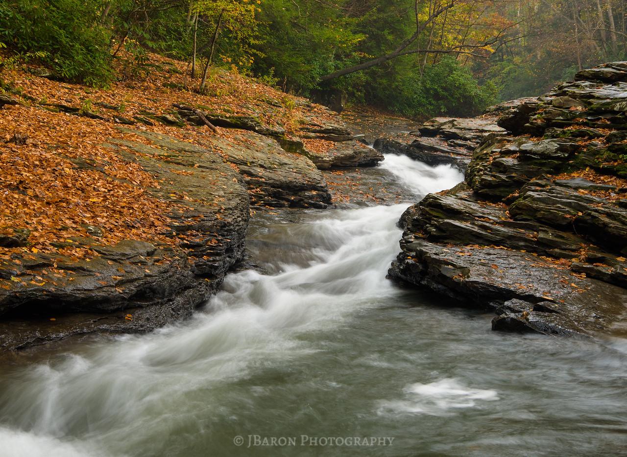 Natural Slides at Ohiopyle 4175