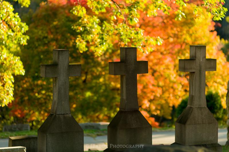 Homewood Cemetery in Autumn IV