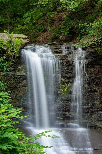 Waterfall at Fall Run Park