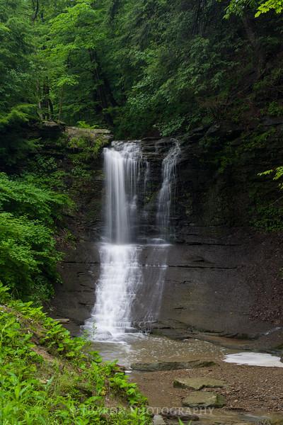 Fall Run Park Waterfall 0734