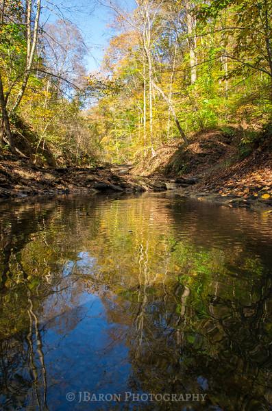 An Autumn Reflecting Pool