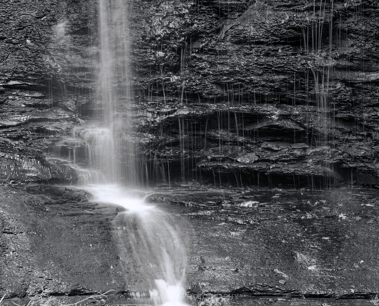 A Slow Spring Waterfall