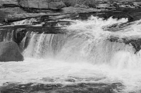 Ohiopyle Falls 2492 Monochrome