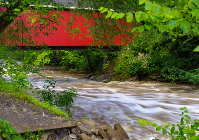 Covered Bridge at McConnells Mill 0650