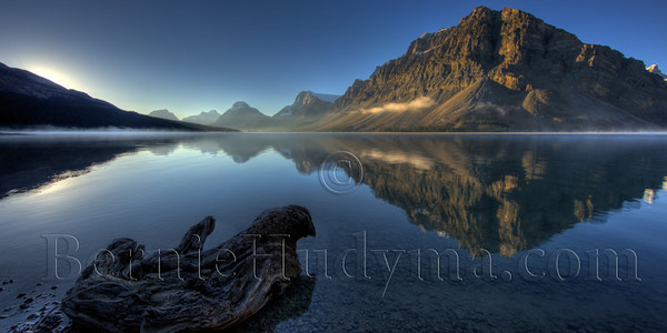 A071740<br /> <br /> Bow Lake @ Sunrise