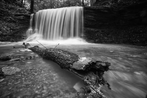 Log Below Grindstone Falls