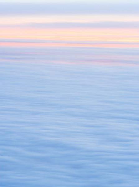 Oregon Dawn from 15,000 ft.  ©2011, James McGrew