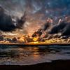 Sunset in Laguna Dusit Thani Beach (HDR Oloneo PhotoEnginer)