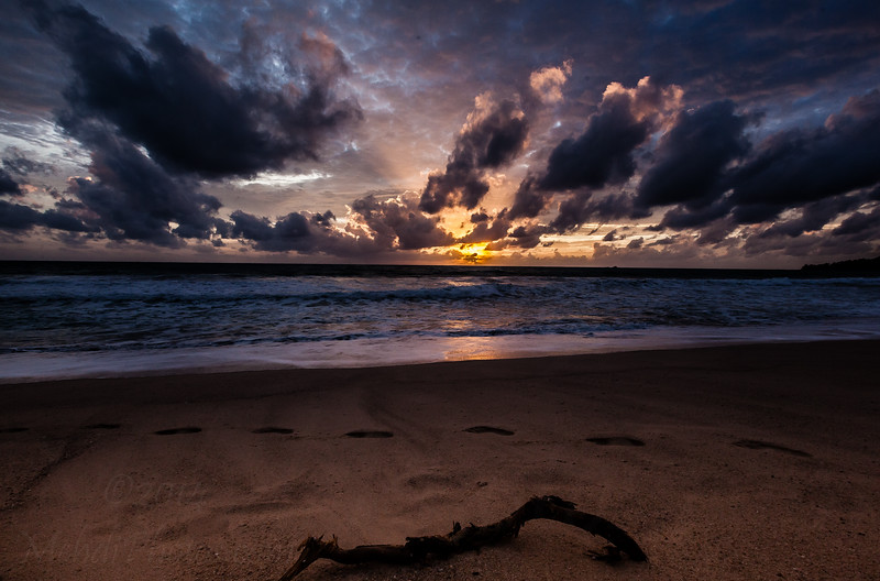 Sunset in Laguna Dusit Thani Beach