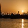 Yet another beautiful sunset in Dubai.