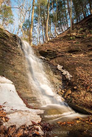 Late Winter Waterfall