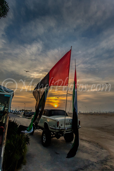 Jumeira Beach, UAE National Day