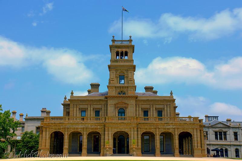 Werribee Mansion, Melbourne, Australia. HDR