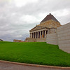 Shrine of Remembrance, Melbourne, Australia Day 2011.