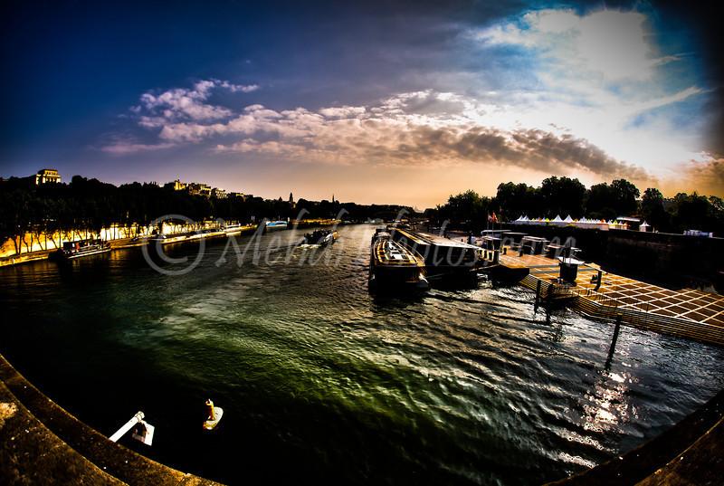 Seine River HDR