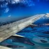 Onboard QF614, VH-TJR, approaching Brisbane Airport RWY 01.