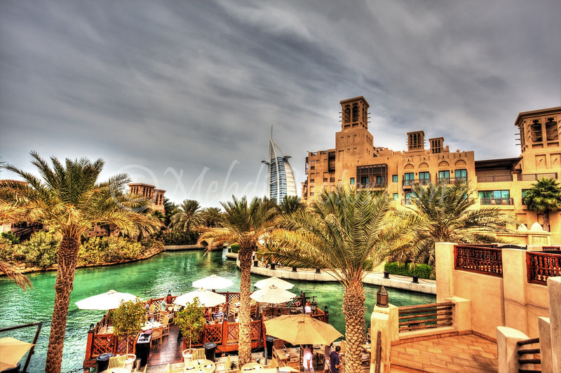 HDR Gourmet Burger at Madinat Jumeirah.