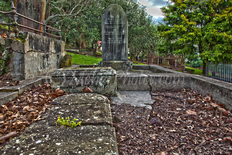 A very old graveyard in AKL. 10 Aug 2011