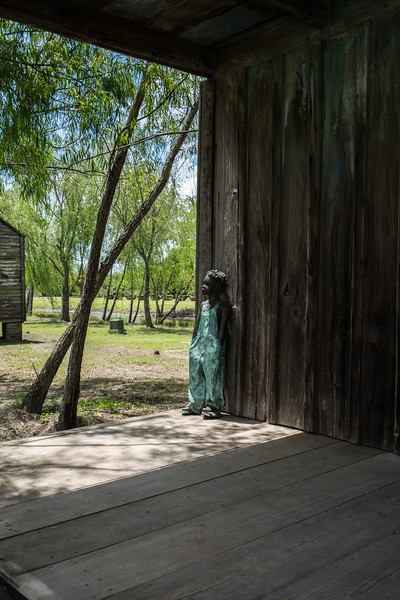 Slave Cabin, Front Porch