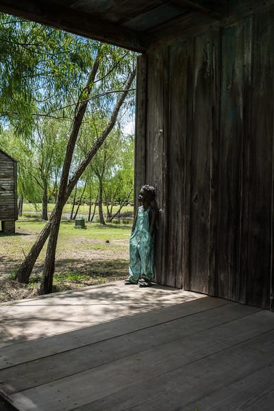 Slave Cabin, Front Porch