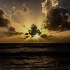HDR Sunset in Laguna Dusit Thani Beach