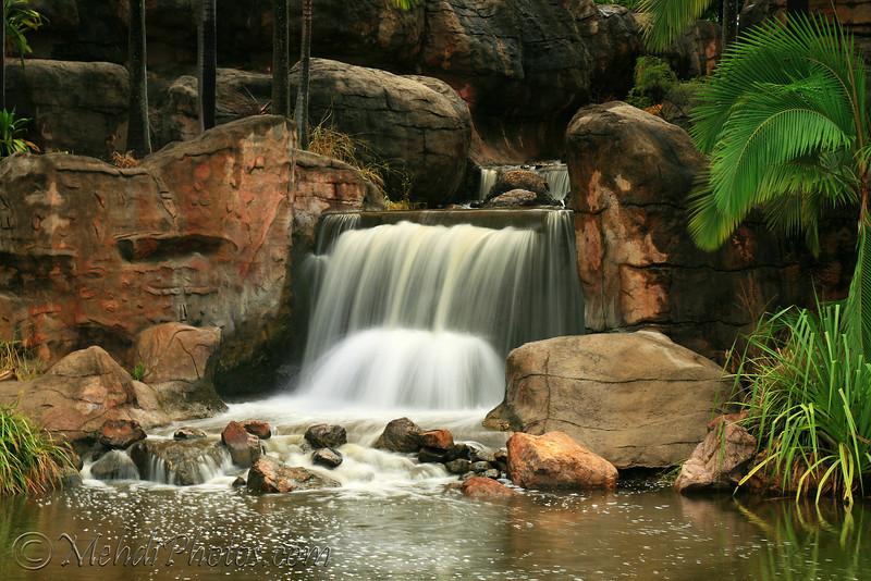 Waterfall<br /> This photo was taken in my trip to Rockhampton, Kershaw Garden.