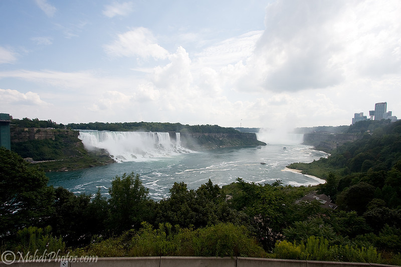 Niagara Falls, Canada side