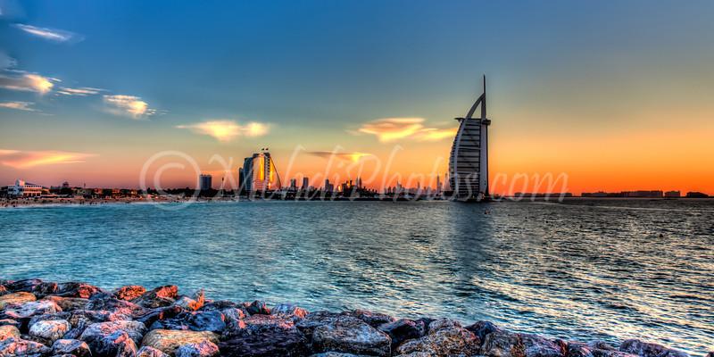 Sunset & Burj Al Arab