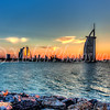 Sunset & Burj Al Arab