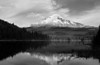Mt. Hood from Trillium Lake.  Copyright, ©2008,  James McGrew